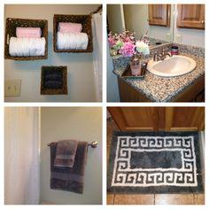 Londyns Bathroom LIGHT PINK And Grey Bathroom Pinterest Lights - Pink and gray bathroom rugs for bathroom decorating ideas