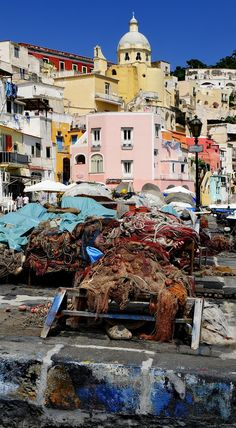 Procida , Italy Procida is one of the Flegrean Islands off the coast of Naples in southern Italy