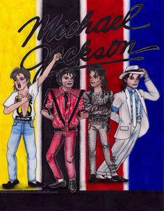 Art with Soul - Michael Jackson cartoon drawing