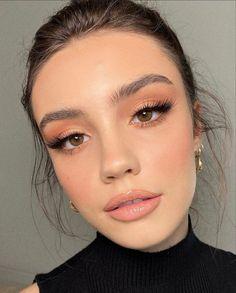 Casual Makeup, Glam Makeup, Skin Makeup, Bridal Makeup, Wedding Makeup, Beauty Makeup, Chanel Makeup, Makeup Looks For Brown Eyes, Natural Makeup Looks