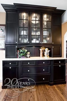 kitchen hutch designs - this is EXACTLY what I was telling Joe I want for our dining room.