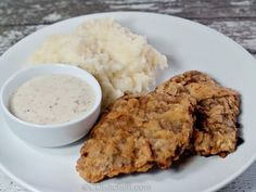 Serve this easy family favorite with mashed potatoes and white country gravy.