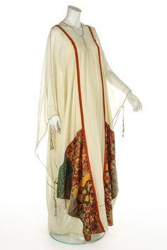 A fine Thea Porter abaya/kaftan dress, 1974.