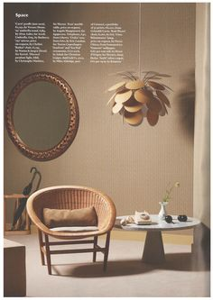 Discocó pendant lamp by Christophe Mathieu at Wallpaper magazine