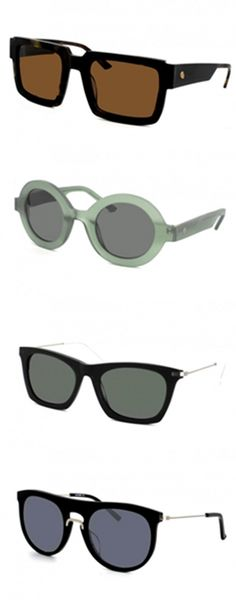 """Cheap Monday's """"Wild At Heart"""" sunglasses collection is definitely not cheap in style. Released for the Spring/Summer 2013, the collection comes with 12 models of round and square frames in varied colors."""