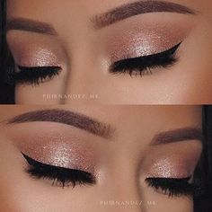 """Wednesday mornings #MakeupInspiration was done by @phernandez_mk using our """"Diamonds are Forever"""" Eyeshadow Palette!!"""