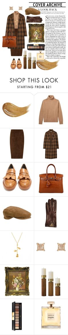 """""""SHERLOCK'S GIRL"""" by blackcatme ❤ liked on Polyvore featuring Too Faced Cosmetics, Acne Studios, STOULS, Vince, Robert Clergerie, Prada, Eva Fehren and Yves Saint Laurent"""