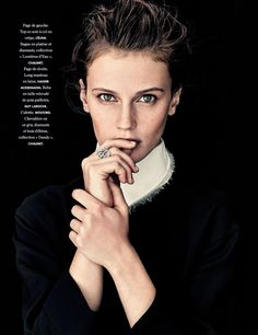 Marine Vacth by Andreas Sjodin for Elle France October 2014