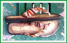 CARIBELLA Summer Leather Sandals - Handmade - $65.00 via Etsy