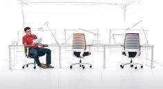 X-Code - Dauphin produziert ergonomische Sitzlösungen für das Büro.