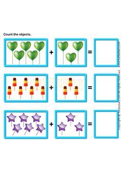 math worksheet : 1000 images about operações  somas  subtrações on pinterest  : Pictorial Addition Worksheets