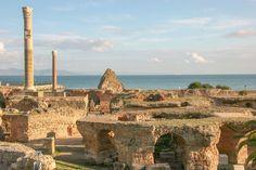 136438379, Cartago, en Túnez, fue fundada en el 814 a.C., según una leyenda.