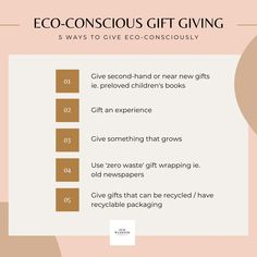 How to Be an Environmentally-Conscious Gift Giver this Christmas Slow Living, Mindful Living, Tree Rope, Grow Kit, Recycling Programs, Warrior Princess, Great Words, Writing Instruments, Sustainable Living