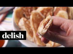 Bacon Pancake Dippers Recipe - Delish.com