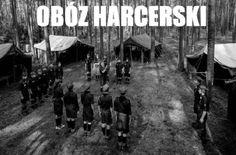 Obóz harcerski #PRL #Harcerstwo #ZHP