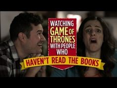 Watching Game Of Thrones With People Who Haven't Read The Books #gameofthrones #got #asongoficeandfire