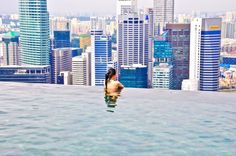 Marina Bay Sands, Skypark Infinity Pool, Singapore