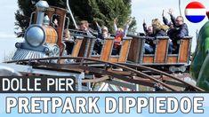 Pretpark DippieDoe - Dolle Pier-achtbaan - Kinderachtbaan in pretpark Di...