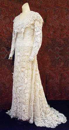 Dress ca. 1912 From Vintage Textile