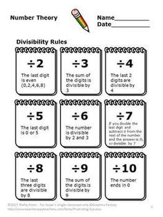 math worksheet : 1000 ideas about divisibility rules on pinterest  math  : Divisibility Worksheets Grade 5