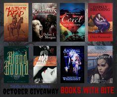 Vampire Novels Giveaway