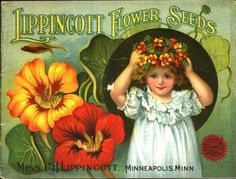 vintage advertising: some of the prettiest historic seed catalogs