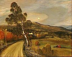 Theophile-Alexander Steinlen. Norwegian landscape
