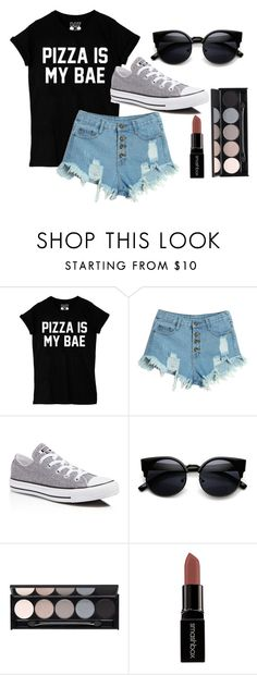 """""""Crystal Keffler STS"""" by sabbtenn on Polyvore featuring WithChic, Converse, Witchery, Smashbox, women's clothing, women's fashion, women, female, woman and misses"""