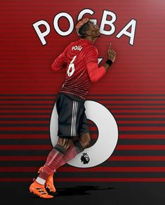 Paul Pogba of Man Utd wallpaper. Paul Pogba Manchester United, Manchester United Players, Messi, Manchester United Wallpaper, Football Is Life, Professional Football, Old Trafford, Man United, Soccer Players