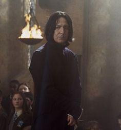 Only Severus Snape Severus Snape Always, Severus Hermione, Snape Harry Potter, Professor Severus Snape, Severus Rogue, Alan Rickman Severus Snape, Harry Potter Characters, Harry Potter Universal, Harry Potter World