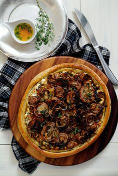 roasted-onion-shallot-tart-02 by pickyin, via Flickr