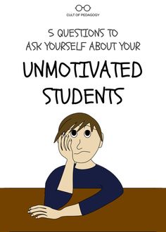 Here are 5 questions we can ask ourselves to see if we really are doing everything we can to boost student motivation. Gifted Education, Kids Education, Special Education, Elementary Education, Upper Elementary, Middle School Classroom, School Teacher, High School, Student Teaching