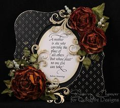 Quietfire Design :: Rubber Stamps & Accessories :: The Rubber Collection :: A :: A Mother is She