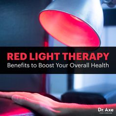 Red light therapy - Dr. Axe http://www.draxe.com #health #holistic #natural
