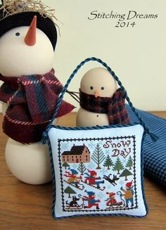 Stitching Dreams: 2014 Parade of Ornaments!