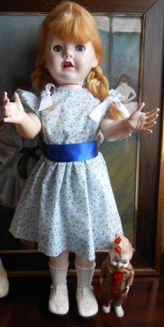 "Ancienne poupée Pedigree Brighton Belle en rhodoid . Vintage Pedigree ""BRIGHTON BELLE"" doll"