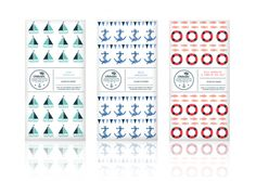 RNLI packaging design, illustration, early concepts, chocolate