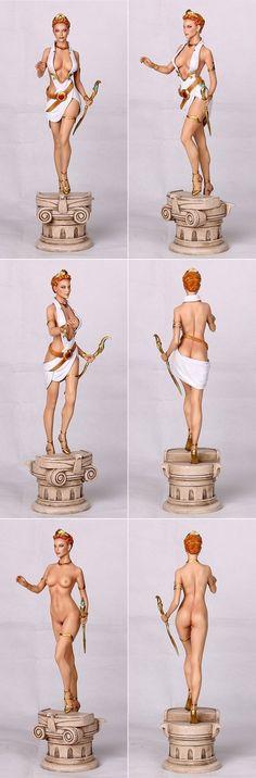 Fantasy Figure Gallery Greek Mythology Collection Statue - Hera (Wei Ho) 1/6