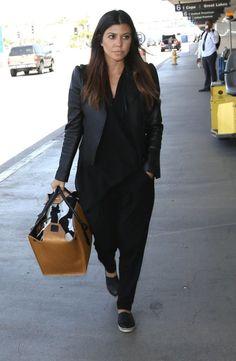 "celebstarlets: "" 5/10/14 - Kourtney Kardashian at LAX Airport. """
