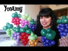 ARCO UVAS PARA COMUNION CON GLOBOS CHASTY - YouTube