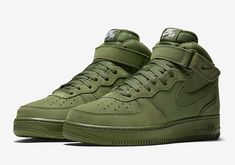 "promo code ae329 e575a  sneakers  news Nike Air Force 1 Mid ""Olive"" Nike Air Max,"