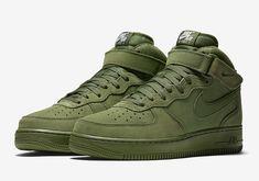 100% authentic dedee b495f Nike Air Force 1 Mid Legion Green 315123-302   SneakerNews.com