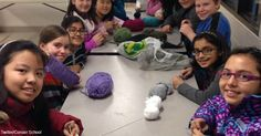Crochet Clubs Are Becoming All the Rage in Schools!