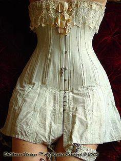 1cfc4557db Edwardian Corset Victorian Gown