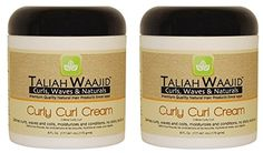 Taliah Waajid Curls Waves and Naturals Curly Curl Cream 6 Ounce Pack of 2 >>> Want to know more, click on the image.