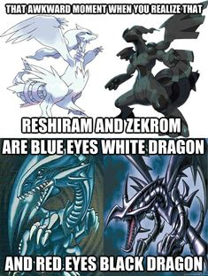 Pokemon Yugioh Dragons memes | quickmeme