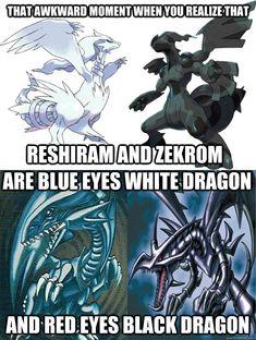 Pokemon Yugioh Dragons memes | quickmeme