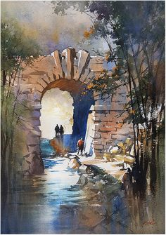 "thomas w. schaller - watercolor artist A very big thanks to jurors; Keiko Tanabe , John Salminen, and Pablo Rubén López Sanz for including my painting , ""Into the Northwoods - Central Park"" in the 1st International Watercolor Society Biennale , Vancouver BC : 05-26 July 2016. Thanks also to the Organizing Committee, Alfonso L. Tejada, Anna Massinissa, Sandrine Pelissier, and Heidi Lambert - and congrats to all my fellow exhibitors."