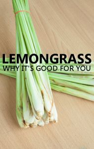 Dr Oz says drinking lemongrass tea is a great way to ease an upset stomach.