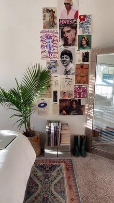 Room Ideas Bedroom, Bedroom Inspo, Bedroom Decor, Indie Room Decor, Aesthetic Room Decor, Aesthetic Indie, Indie Living Room, Indie Bedroom, Aesthetic Vintage